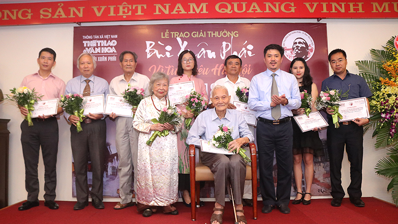 Giải thưởng Bùi Xuân Phái: Dòng chảy của những tình yêu Hà Nội vẫn không ngừng lớn mạnh