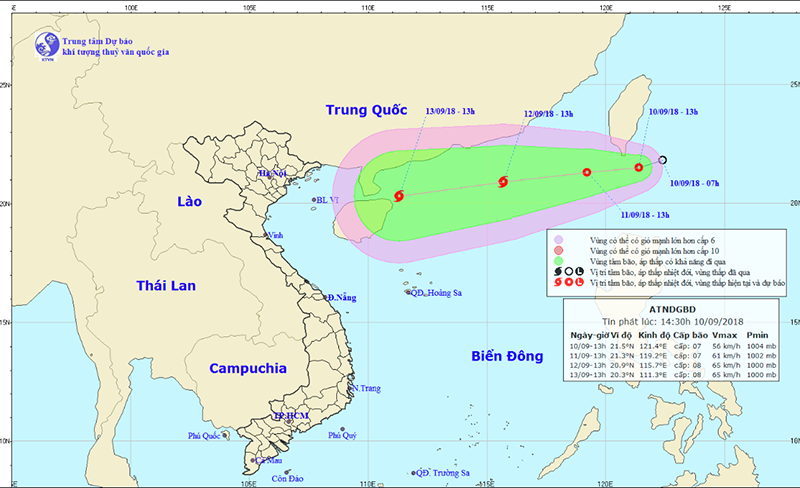 Áp thấp nhiệt đới, tin áp thấp nhiệt đới, áp thấp nhiệt đới trên biển đông, Bão, Tin bão mới nhất, Bão số 5, Dự báo thời tiết, Tin bão, cơn bão số 5, bão mới nhất