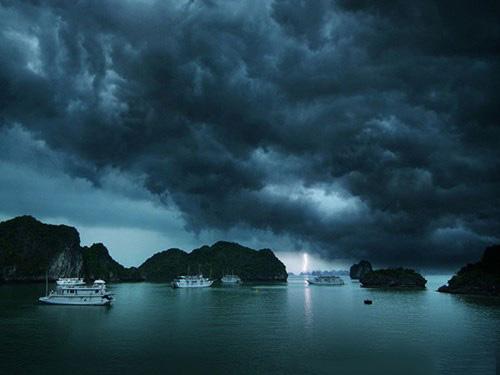 Trên thế giới đang có 9 cơn bão hoạt động, siêu bão Mangkhut là mạnh nhất