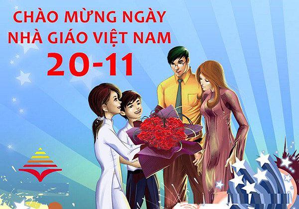 Những lời chúc Ngày Nhà giáo Việt Nam 20/11 tình cảm nhất
