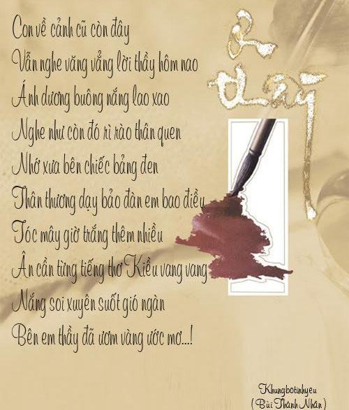 Ngày Nhà giáo, Ngày Nhà giáo Việt Nam, Ngày 20/11, Lời chúc ngày Nhà giáo, thơ ngày nhà giáo việt nam, ngày 20-11, lời chúc ngày 20/11, lời chúc ngày 20-11, thơ 20/11