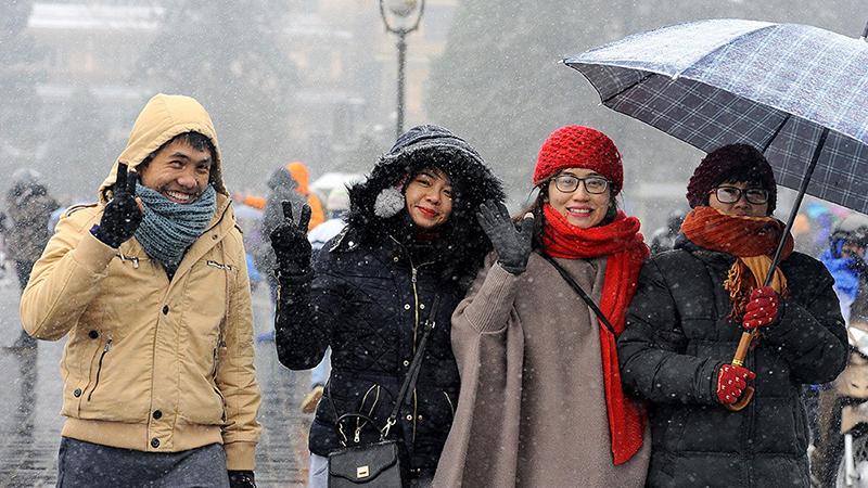 Dự báo thời tiết: Bắc bộ rét buốt, Trung bộ mưa lớn diện rộng