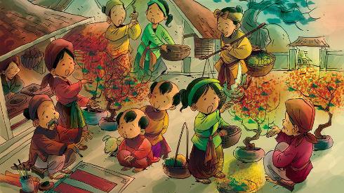 Tìm bản nguyên Tết Nguyên đán và Tết cung đình tôn nghiêm của các triều đại Việt Nam