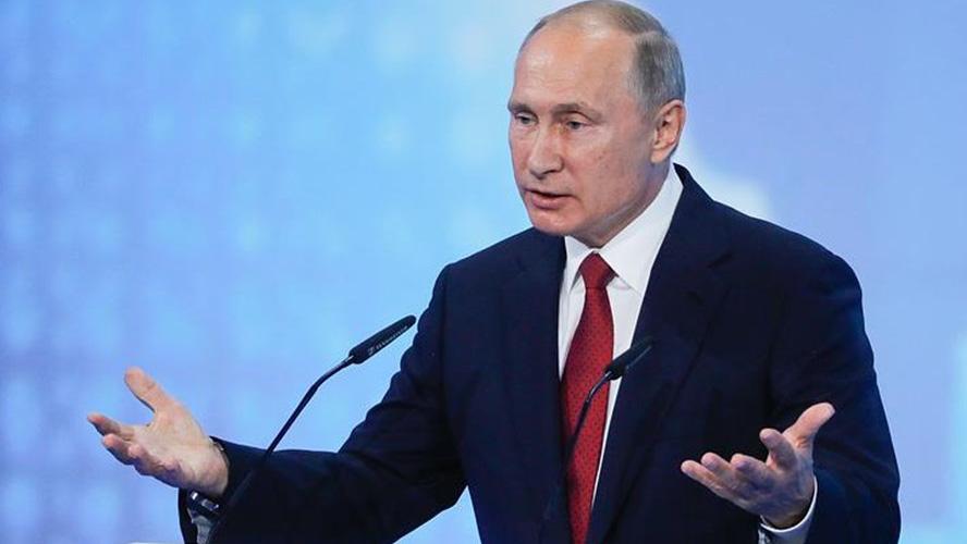 Tổng thống Nga Vladimir Putin đọc Thông điệp liên bang năm 2019