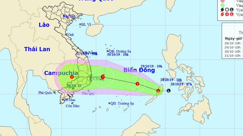 Dự báo thời tiết tin bão mới nhất: Áp thấp nhiệt đới khả năng mạnh lên thành bão số 5