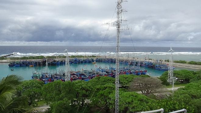 Bão số 6: Chống bão trên quần đảo Trường Sa, hiện gió đã giật cấp 7
