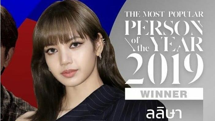 Blackpink, Thái Lan chọn Lisa Blackpink Nhân vật đình đám nhất năm 2019, Lisa, Lisa Blackpink, Lisa Blackpink trở thành Nhân vật đình đám nhất năm 2019, BTS, bts