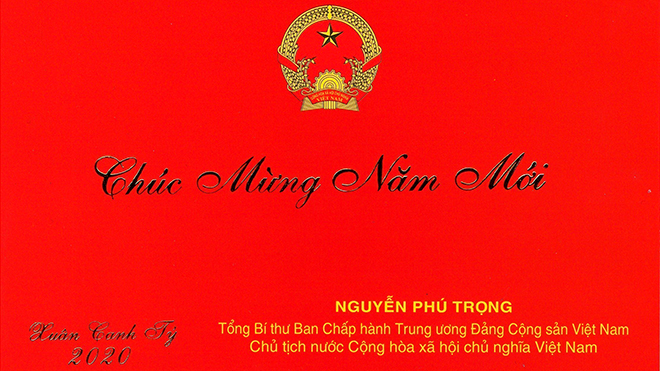 Chủ tịch nước chúc Tết, Tổng bí thư chúc Tết, Thư chúc tết của Chủ tịch nước, Thiệp chúc tết Chủ tịch nước, Tổng Bí thư Nguyễn Phú Trọng, chúc mừng năm mới, cuối năm