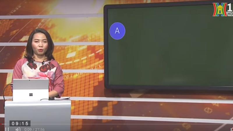 Hướng dẫn học trên truyền hình Hà Nội
