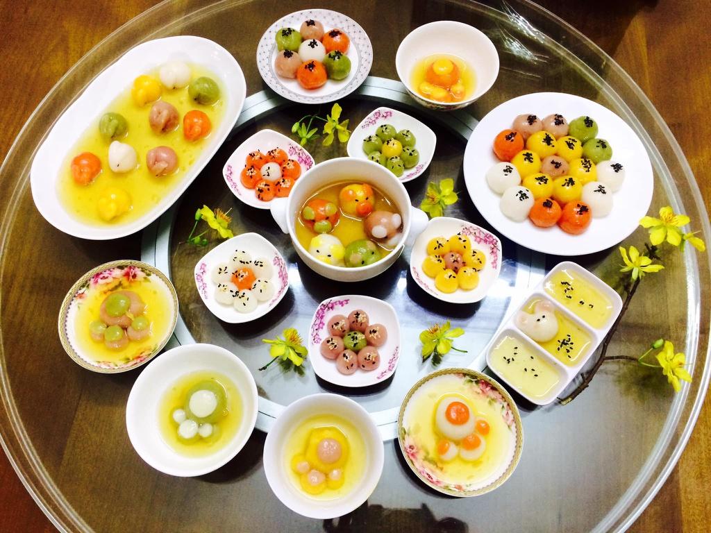 Văn khấn Tết Hàn thực, Bài cúng Tết Hàn thực, Cúng Tết Hàn thực, Tết hàn thực, mâm cúng tết hàn thực, bánh trôi banh chay, Tết hàn thực là gì, nguồn gốc tết hàn thực