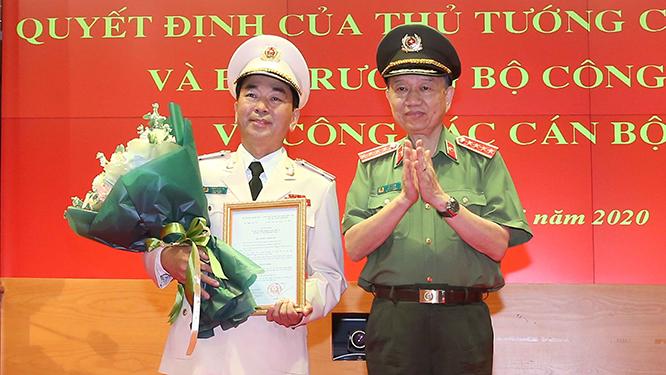 Lễ công bố Quyết định của Thủ tướng Chính phủ bổ nhiệm tân Thứ trưởng Bộ Công an Trần Quốc Tỏ