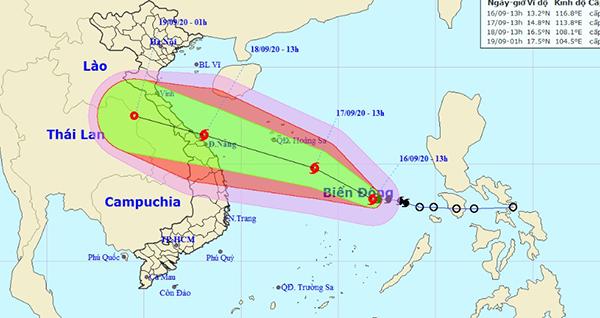 Bão số 5 tin bão mới nhất trên Biển Đông