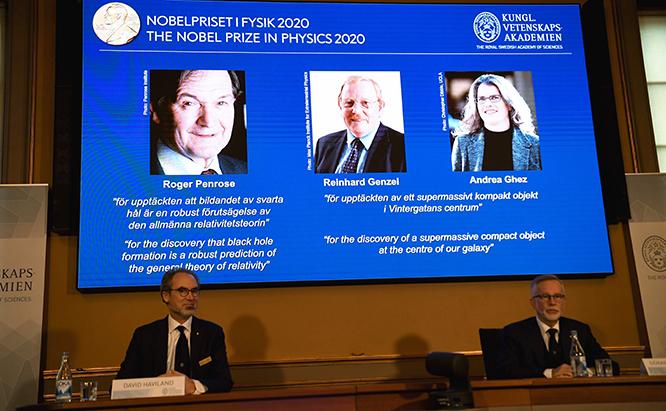 Giải Nobel Vật lý, Giải Nobel Vật lý 2020, Nobel Vật lý, Giải Nobel, Giai nobel, Giải Nobel 2020