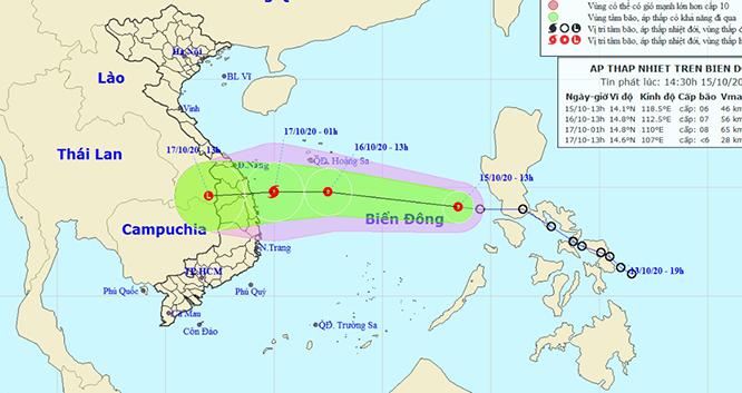 Áp thấp nhiệt đới mạnh lên thành bão số 8, thời gian tới bão lũ phức tạp