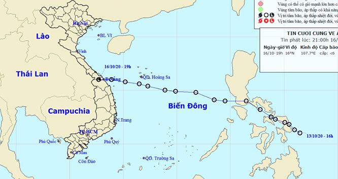 Áp thấp nhiệt đới đã tan tuy nhiên tuần tới Trung Bộ mưa rất to