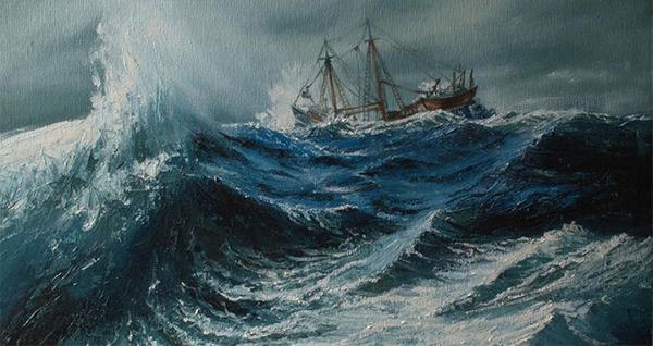 Tin bão. Tin bão mới nhất. Nước biển ấm lên khiến bão mạnh hơn kéo dài hơn