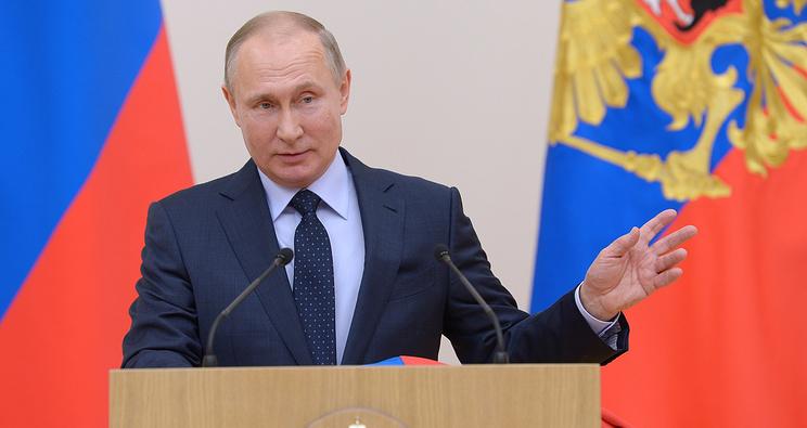 Giao thừa, Tổng thống Nga Vladimir Putin gửi lời chúc mừng Năm mới Việt Nam, chúc mừng năm mới