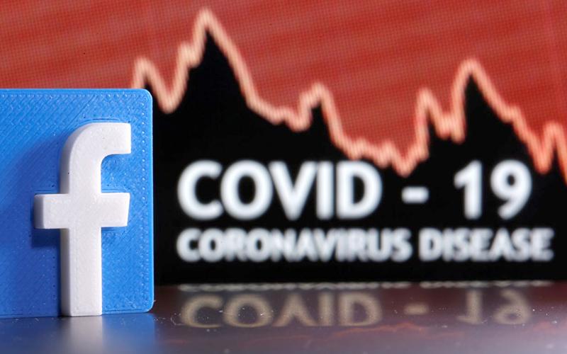 Facebook dán nhãn các nội dung đăng tải về vaccine Covid-19