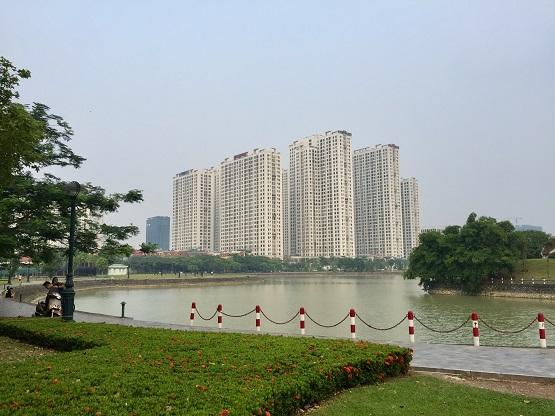 Cần xử lý dứt điểm tình trạng chiếm đất tại khu đô thị 'Thành phố Giao lưu'