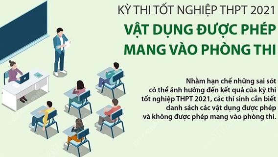Kỳ thi tốt nghiệp THPT năm 2021: Lịch thi chi tiết các ngày 7 - 8/7