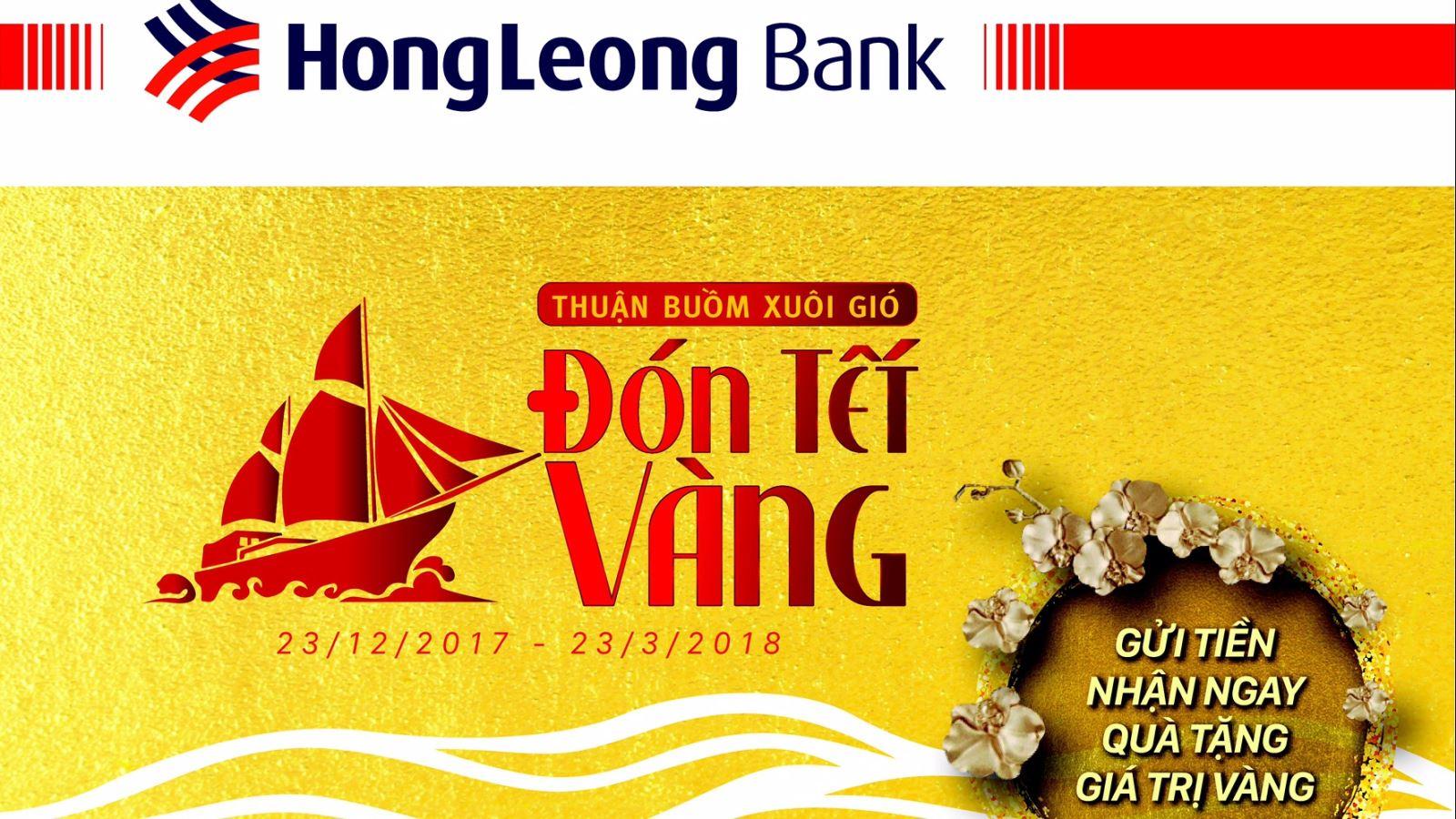 Gửi tiền tiết kiệm nhận quà giá trị vàng cùng Hong Leong Việt Nam