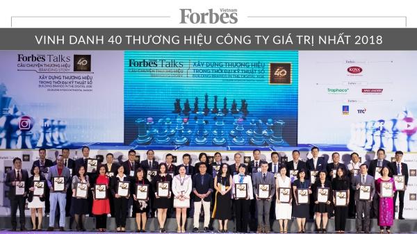 HABECO - Top 40 thương hiệu công ty giá trị nhất Việt Nam năm 2018