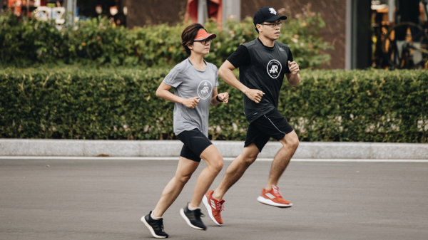Khi stress, hãy chạy bộ!