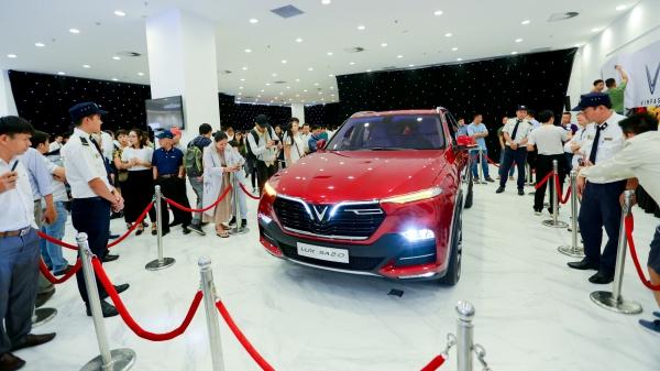 'Bộ tứ'xe VINFAST ra mắt thị trường phía Nam