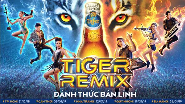 Tiger Remix 2019 – Đại tiệc âm nhạc bùng nổ giác quan