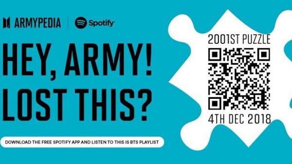 Hành trình săn ARMYPEDIA có 1-0-2 của BTS mang đậm dấu ấn độc đáo Spotify