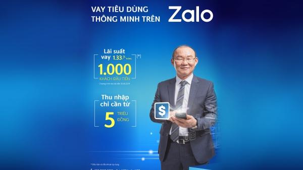 Ngân hàng Shinhan triển khai dịch vụ vay tiền trên ứng dụng Zalo