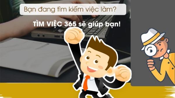 Timviec365.vn- Cơ hội tìm việc làm thêm hấp dẫn và nhanh chóng