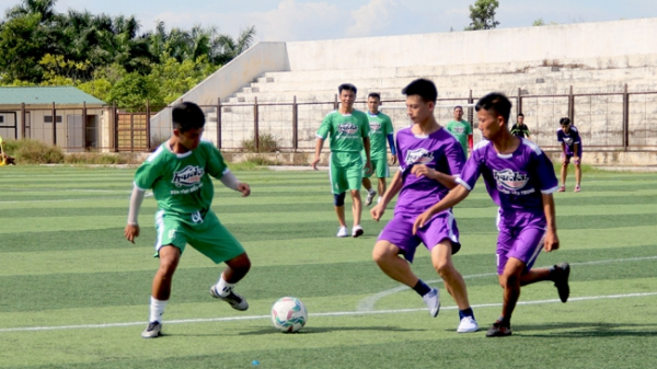 Sôi động Giải bóng đá Thanh Hóa – Huda Cup 2019