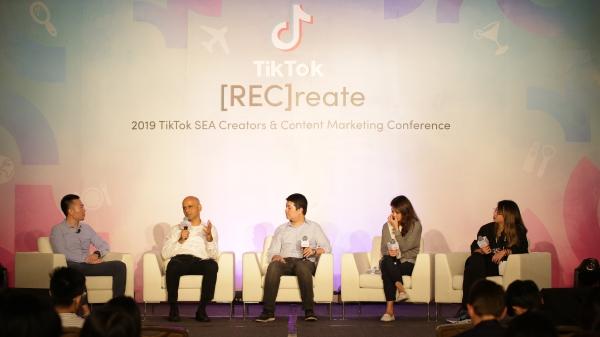 TikTok lần đầu tổ chức hội nghị sáng tạo và tiếp thị nội dung