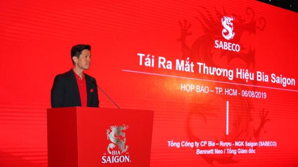 Tái ra mắt thương hiệu Bia Sài Gòn nhằm giữ vững vị thế là niềm tự hào Việt