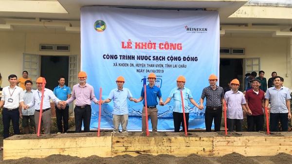 Heineken Việt Nam tiếp tục hỗ trợ công trình nước cho cộng đồng tai Lai Châu