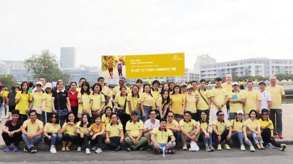 Phú Hưng Life đồng hành cùng chương trình đi bộ từ thiện Lawrence S.Ting 2020