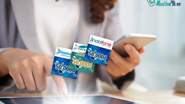Website muathe24h.vn - 'thiên đường'mua bán thẻ cào trực tuyến hàng đầu Việt Nam