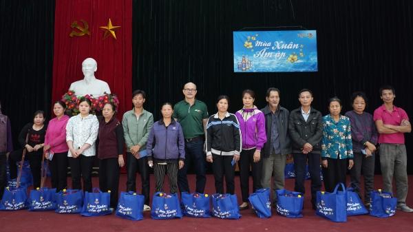 Chương trình 'Tiger - Mùa Xuân Ấm Áp'mang niềm vui đến các gia đình khó khăn đón Tết