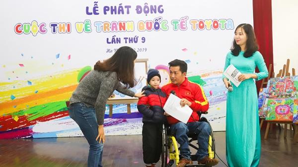Trẻ em Việt Nam thỏa sức đam mê hội họa cùng Cuộc thi vẽ tranh quốc tế Toyota