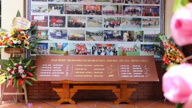 Lần đầu tiên một thương hiệu sản xuất vật liệu xây dựng đất sét nung Việt Nam lập cú đúp Kỷ lục Thế giới