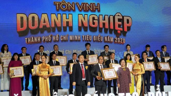 Công ty Vissan đạt danh hiệu Doanh Nghiệp, Doanh Nhân tiêu biểu Thành Phố Hồ Chí Minh năm 2020