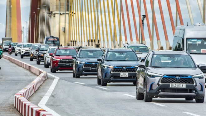 Trải nghiệm các dòng SUV Toyota 'đậm chất sống'
