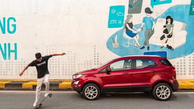 Ford EcoSport 2020: 'Chuyên gia đường phố' với những nâng cấp đáng kể