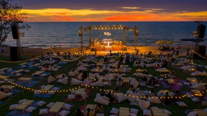 Tiệc âm nhạc ngắm hoàng hôn đẹp nhất Việt Nam ở Vinpearl Phú Quốc