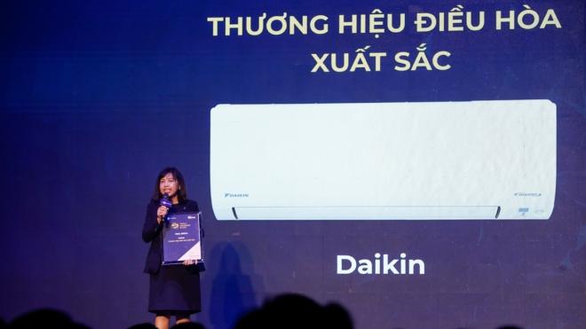 Daikin lần thứ hai nhận thương hiệu điều hòa xuất sắc tại Tech Awards