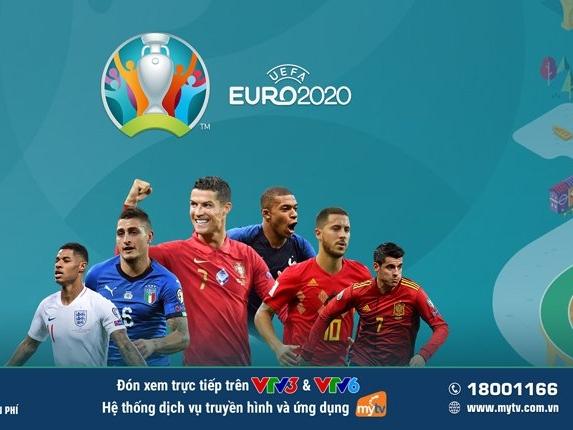 Tâm điểm thể thao hè 2021 - Cùng MyTV 'lăn'theo trái bóng 'Uniforia'của UEFA Euro 2020