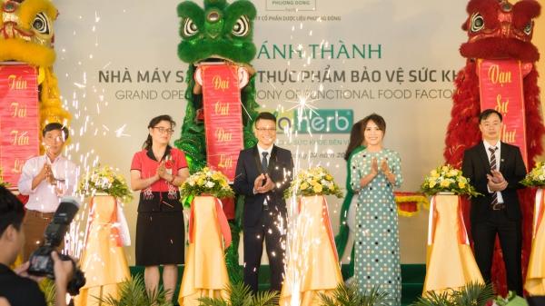Dược Phương Đông khánh thành nhà máy triệu đô tại Hà Nội