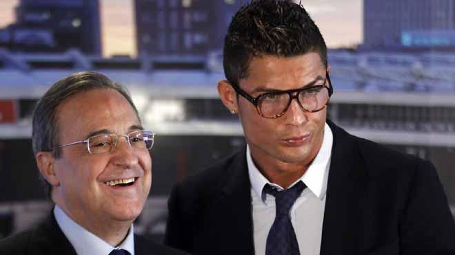 Florentino Perez phá vỡ sự im lặng trước tin đồn Ronaldo đòi ra đi