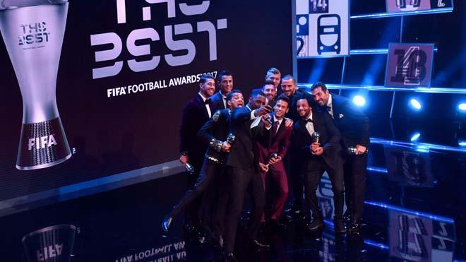 Real Madrid thống trị Đội hình tiêu biểu của FIFA 2017